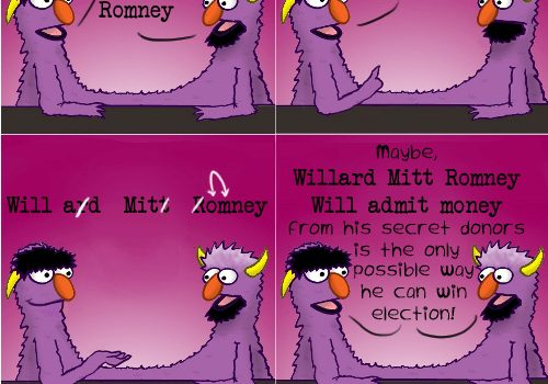 Sesame Street Explains How Willard Mitt Romney Will Get Elected