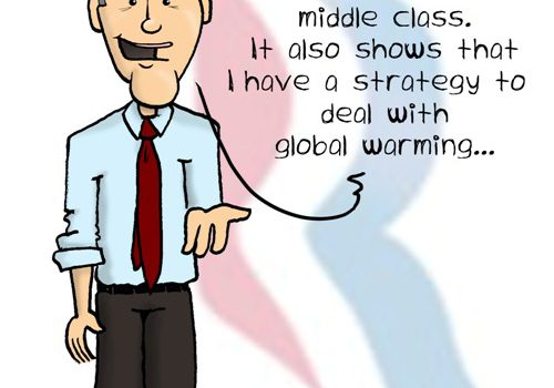 Mitt Romney on the Middle Class and Global Warming