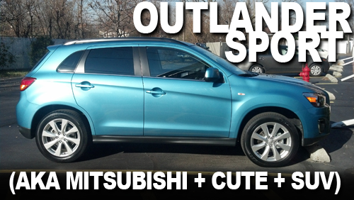 Mitsubishi Outlander Sport Featured