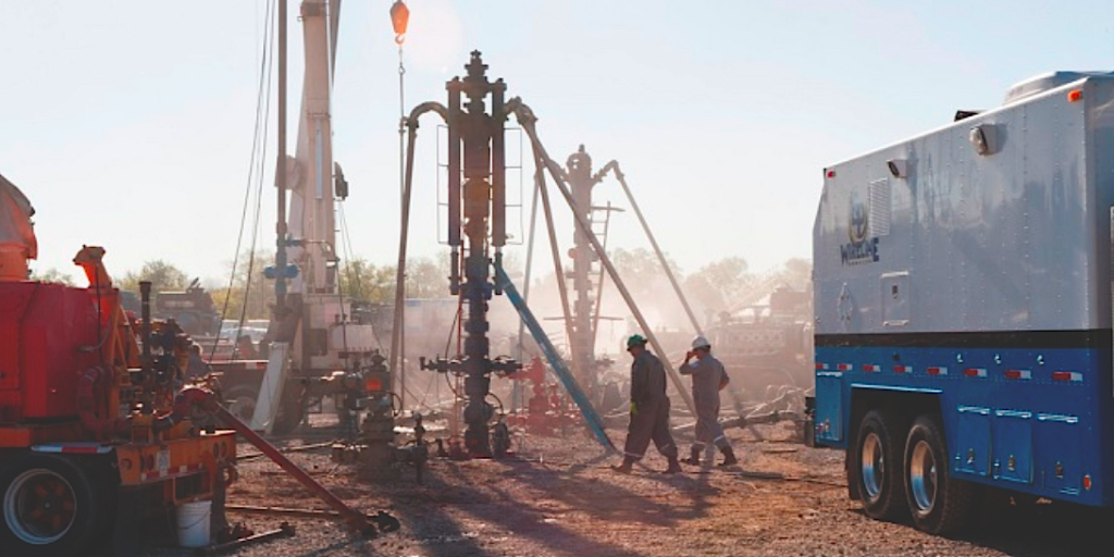 Gas fracking wells in operation (Irekia-Eusko Jaurlaritza in blogs.lse.ac.uk)