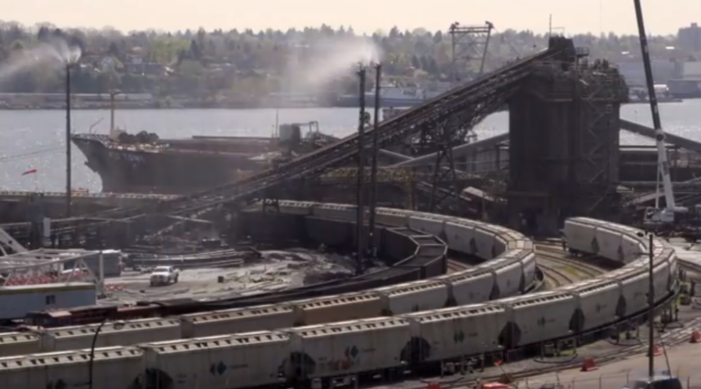 Another view of Neptune Terminals - Courtesy Save the Salish Sea