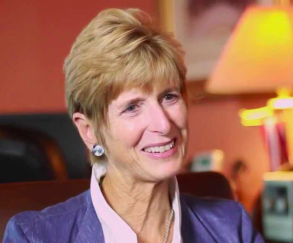 Christine Todd Whitman, former Republican NJ governor and EPA administrator (screenshot from 2013 interview)