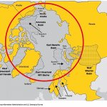 Arctic petroleum basins (USEIA and USGS)