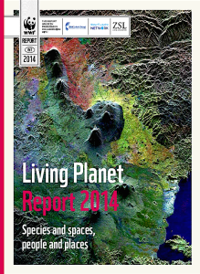 Cover of WWF extinction (Living Planet) report (wwf.org)