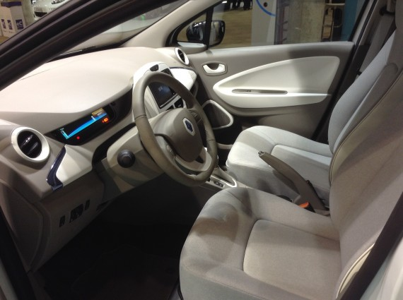 Renault Fluence ZE inside