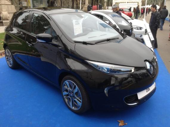 Renault Zoe black 4