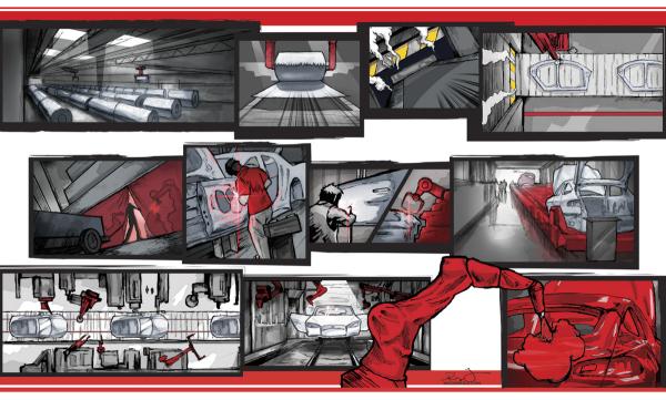 Tesla X-Men robots comic