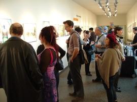 The Brain reception crowd2
