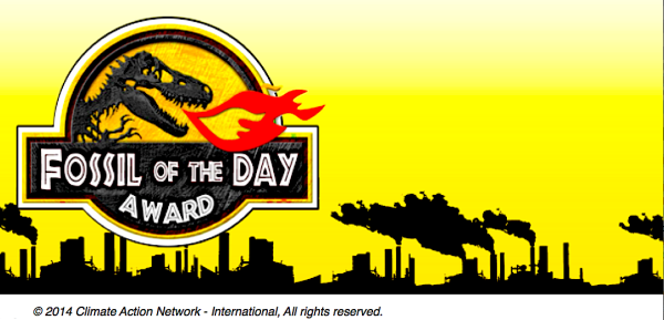 CAN Fossil of the Day (Climate Action Network)