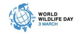 World Wildlife Day logo (twitter)