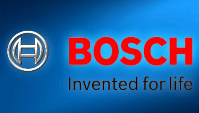Bosch logo screenshot from bosch