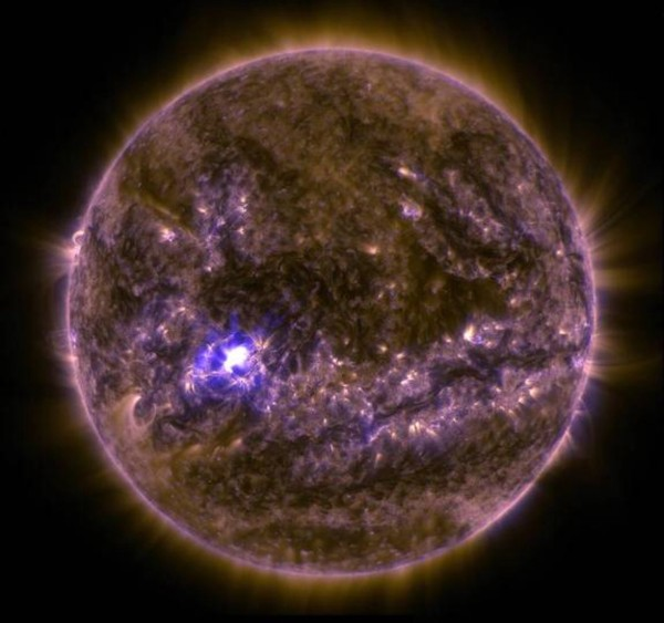 Solar flare March 11