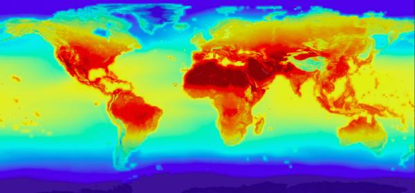 NASA Earth observaNASA Earth climate map (nasa.gov)