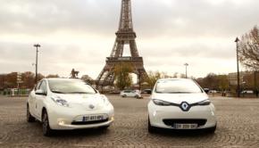 Renault Zoe Nissan LEAF