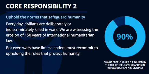 Core responsibility 2: 2016 World Humanitarian Summit (sgreport/worldhumanitariasummit.org)